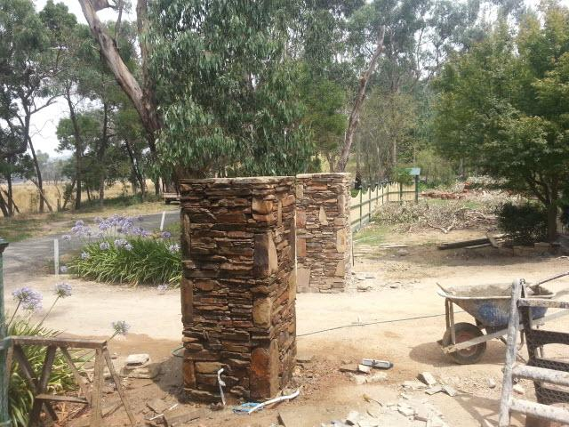 castlemaine%20dry%20stacked%20entrance%20pillars Melbourne Stonemasons | Showcase | Call 0411 73 76 77